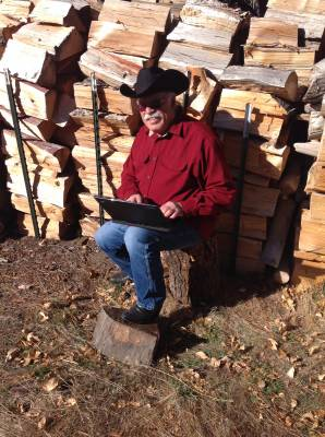 Jim Zumbo at the Wood Pile